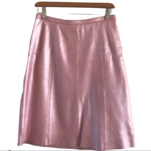 BCBG leather skirt